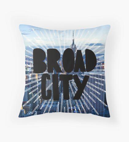 Broad City 2 Throw Pillow