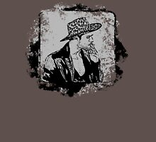 Cowboy Smoking Hat - Cool Grunge Vintage Unisex T-Shirt