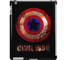 Civil War - Captain America iPad Case/Skin