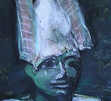 Egyptian King (Modern Take on Ancient Egyptian Statue) by Niki Hilsabeck