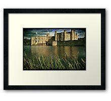 Leeds Castle Across the Moat Framed Print