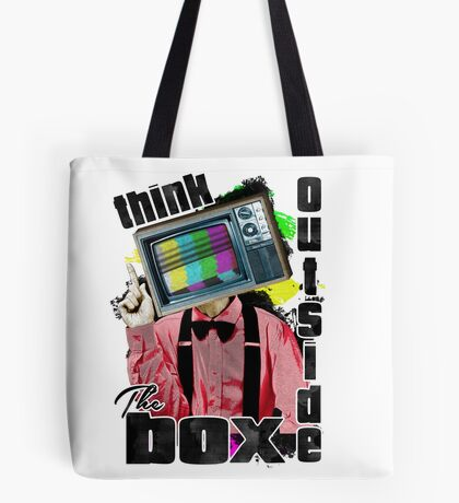 Think Outside The Box! Tote Bag