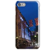 Union Jacks at Seven Dials, Covent Garden, London, UK iPhone Case/Skin