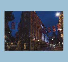 Union Jacks at Seven Dials, Covent Garden, London, UK One Piece - Short Sleeve
