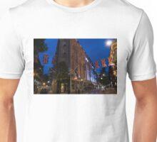 Union Jacks at Seven Dials, Covent Garden, London, UK Unisex T-Shirt