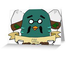 Coo Greeting Card