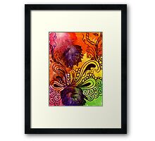 Pais Splash Framed Print