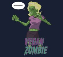 Lady Vegan Zombie Kids Tee
