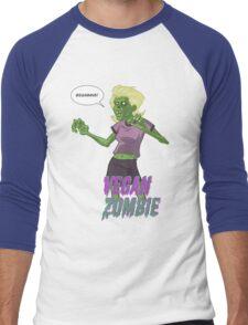 Lady Vegan Zombie Men's Baseball ¾ T-Shirt