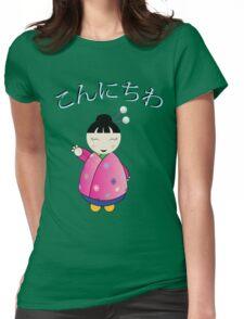 Konichiwa Womens Fitted T-Shirt