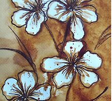 Coffee Flowers by Dianne  Ilka