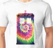 Tie Dye Tardis Unisex T-Shirt