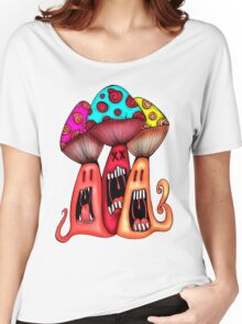 Angry Mushrooms Women's Relaxed Fit T-Shirt