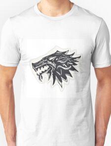 Game of Thrones Stark Wolf  T-Shirt