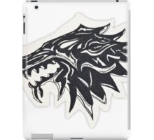 Game of Thrones Stark Wolf  iPad Case/Skin