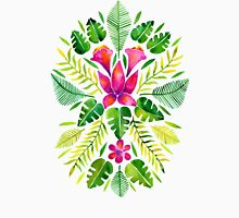 Tropical Symmetry – Pink & Green T-Shirt