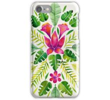 Tropical Symmetry – Pink & Green iPhone Case/Skin