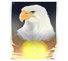 Eagle's Sunrise by Pinafta1 Poster