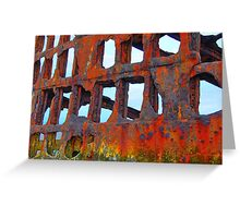 Shipwreck Greeting Card