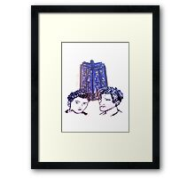 Doctor Who - Ten & Eleven Framed Print