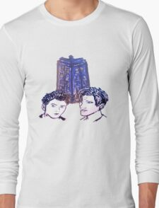 Doctor Who - Ten & Eleven Long Sleeve T-Shirt