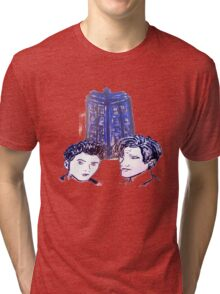 Doctor Who - Ten & Eleven Tri-blend T-Shirt