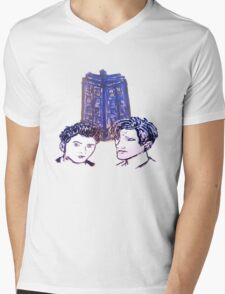 Doctor Who - Ten & Eleven Mens V-Neck T-Shirt