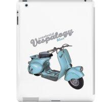 Scooterist Vespalogy (blue) iPad Case/Skin