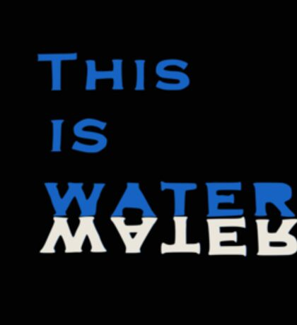 This is Water Sticker