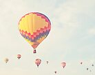 A flock of hot air balloons by STUDIOCLAIRE