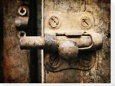 Door Latch by Maria  Gonzalez