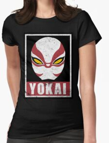 OBEY Yokai Womens Fitted T-Shirt
