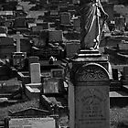 Grave at Cemetery by Jay Johnson