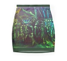 GYMPIE MUSTER - COLLECTION - NIGHT POETS Mini Skirt