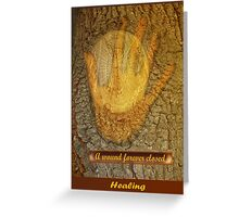 A Wound Forever Closed  Greeting Card