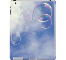 bubbles in the clouds iPad Case/Skin