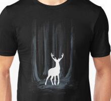 Glowing White Stag Unisex T-Shirt