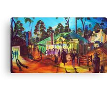 GYMPIE MUSTER - COLLECTION - MUSTER TAVERN SWAGGER Canvas Print