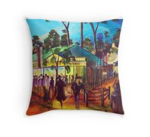 GYMPIE MUSTER - COLLECTION - MUSTER TAVERN SWAGGER Throw Pillow