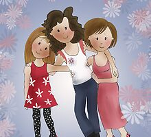 Girlfriends by Kristy Spring-Brown
