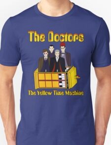 The Yellow Time Machine (Plain Background) Unisex T-Shirt