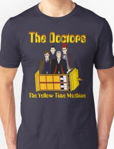 The Yellow Time Machine (Plain Background) T-Shirt