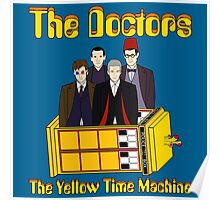 The Yellow Time Machine (Plain Background) Poster
