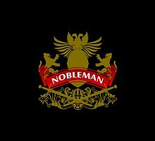 Fit For A Nobleman Coat-of-Arms by Vy Solomatenko