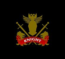 Fit For A Knight Coat-of-Arms by Vy Solomatenko