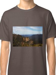Three Sisters -Blue  Mountains- Classic T-Shirt