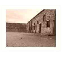 Jail, Burra, South Australia Art Print