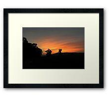 Ozark Sunset 2 Framed Print