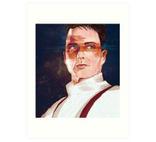 Captain Jack Harkness Art Print