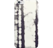 trees in the sunlight with bokeh iPhone Case/Skin
